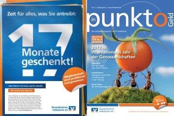 Einer für alle - Rüsselsheimer Volksbank eG