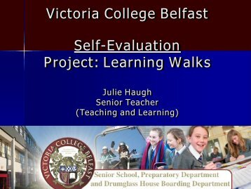 Victoria College - Learning Walks