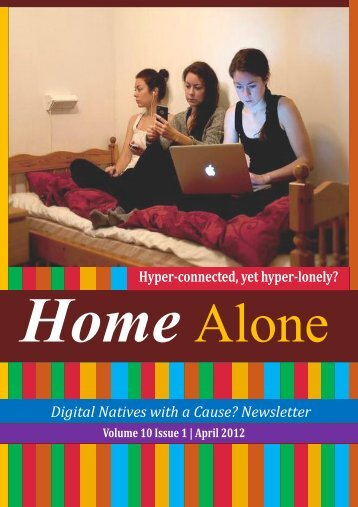 Volume X, issue 1 Home Alone - Centre for Internet and Society