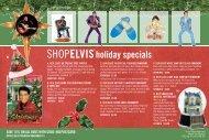 ShopElvis® holiday specials - Musictoday