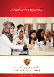 Pharm.D Program Brochure - Gulf Medical University