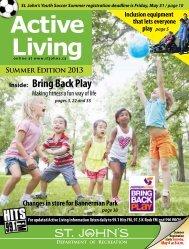Active Living Guide Summer 2013 online_0.pdf - City of St. John's