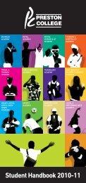Student Handbook 2010-11 - Login