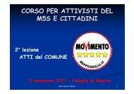 ATTI del COMUNE - Sg64.it