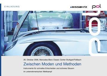 Zwischen Moden und Methoden - Bissantz & Company GmbH