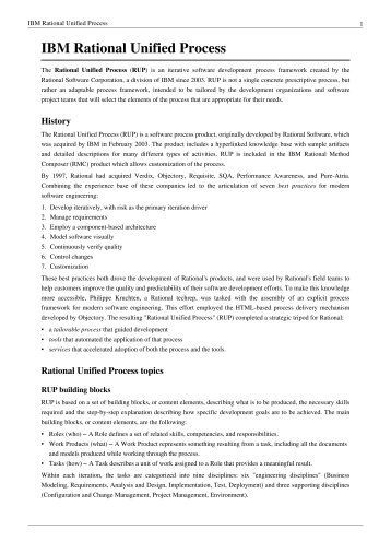 rup methodology pdf
