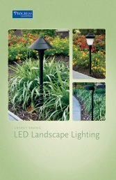 Progress Lighting LED Landscape Brochure - Hansen Wholesale