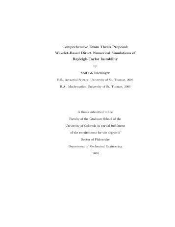 Comprehensive Exam Thesis Proposal  Wavelet Based Direct   Yumpu