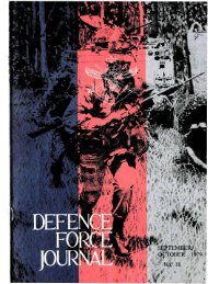 ISSUE 18 : Sep/Oct - 1979 - Australian Defence Force Journal