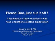 A Qualitative study of patients who have undergone elective ...