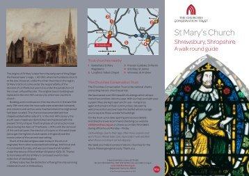 Church of St Mary the Virgin, Shrewsbury, Shropshire