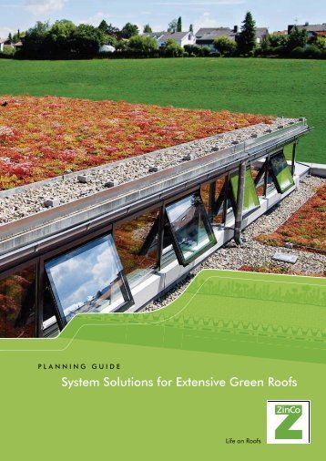 System Solutions for Extensive Green Roofs (3217 KB) - ZinCo