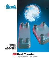 Schmidt Bretten Brazed Plate Heat Exchangers - Process