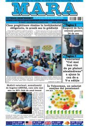Download (PDF, 4.59MB) - Ziarul Mara