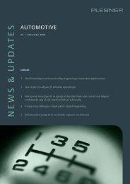 Indhold: 1 Den fremtidige konkurrenceretlige regulering af ... - Plesner