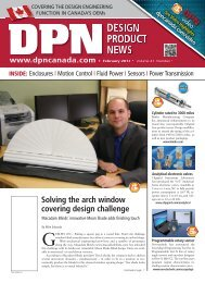 DESIGN PRODUCT NEWS - DPN Staff