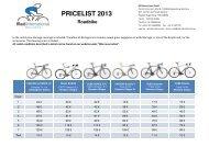 PRICELIST 2013 - Rad International