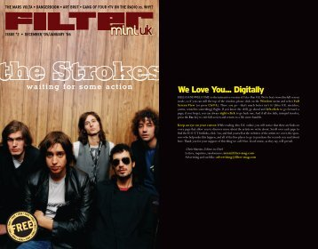 We Love You... Digitally - FILTER Magazine