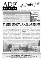 Wadenbeißer Nr. 86 vom 1.11.2010 [PDF] - ADF ...