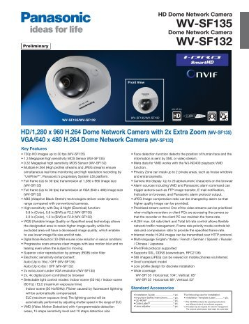 panasonic wv sf548 pdf