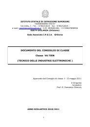 Documento 15 maggio Ipsia di Ghilarza · 5A - Isisghilarza.it