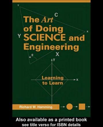 Hamming-TheArtOfDoingScienceAndEngineering