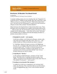 Brochures 10 Blunders You Should Avoid - CR Advisors
