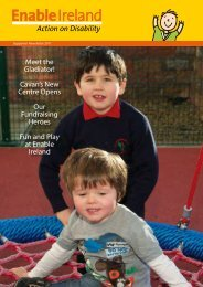 Donor Newsletter (.pdf 1.89MB) - Enable Ireland
