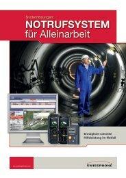 NOTRUFSYSTEM für Alleinarbeit - Swissphone