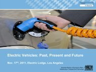 Electric Vehicles - Past, Present and Future - the Bavarian US ...