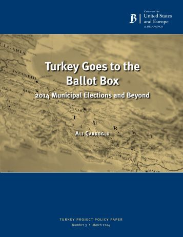 13 turkey ballot box municipal elections carkoglu