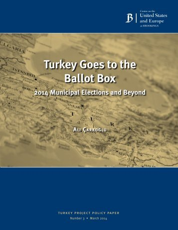 13 turkey ballot box municipal elections carkoglu