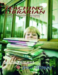 Management @ your library TEACHING LIBRARIAN - Accessola2