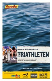 PowerBar Nutrition Coach Triathlon