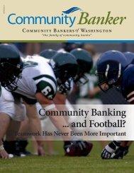 Community Banking ... and Football? - Media Communication Group