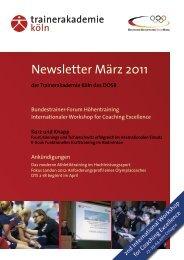 Newsletter März 2011 - Frontcourt