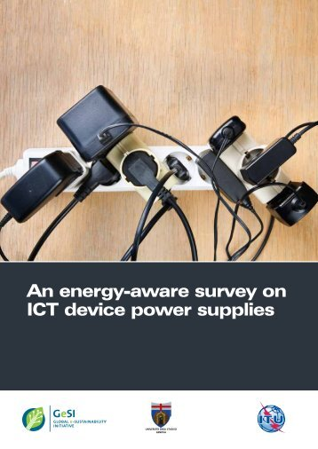 An energy-aware survey on ICT device power supplies - ITU