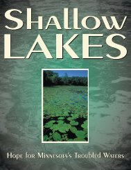 Shallow Lakes Booklet - Green Lake County
