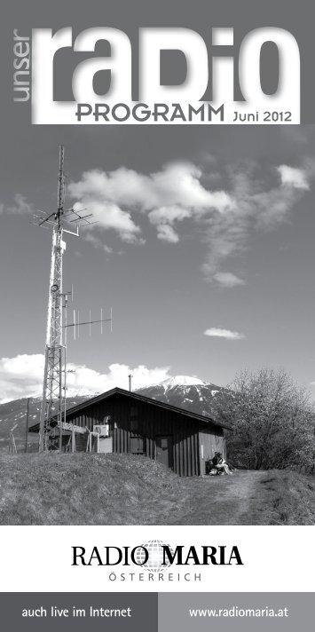 PROGRAMM Juni 2012 - Radio Maria