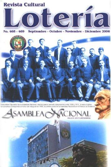 Revista Cultural Lotería - Asamblea Legislativa de la República de ...