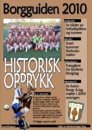 1 Borgguiden 2010 | informasjon finner du også på www.ifborg.no