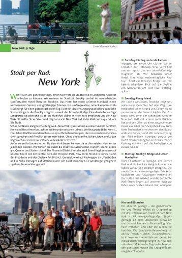 New York - Die Landpartie Radeln und Reisen GmbH