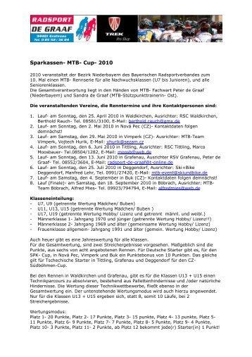 Sparkassen- MTB- Cup- 2010 - Radsport de Graaf