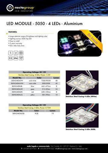 Led Module 4LED - Necto Group