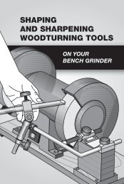 shaping and sharpening woodturning tools - gerald@eberhardt.bz