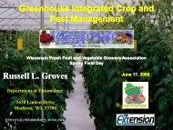 Greenhouse Integrated Crop and Pest Management Russell L. Groves