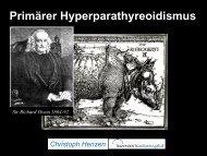 Primärer Hyperparathyreoidismus - Astrazenecafocus.ch