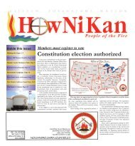 Constitution election authorized - Citizen Potawatomi Nation