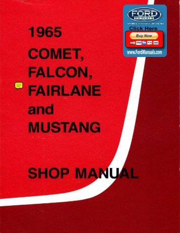 Demo - 1965 Ford Shop Manual - FordManuals.com
