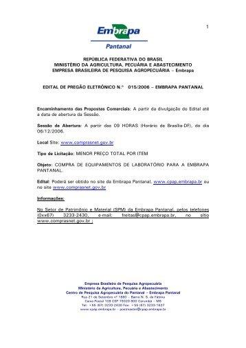 república federativa do brasil ministério da agricultura, pecuária e ...